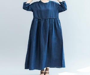 etsy, women dress, and long maxi dress image