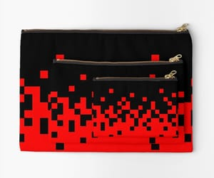 fire, red, and studio pouch image