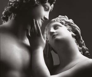 statue, love, and art image