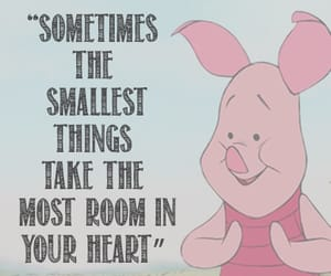 quotes, piglet, and winnie the pooh image