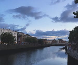 cities, dublin, and river image