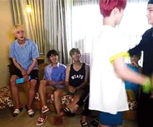 gif, jung kook, and taehyung image