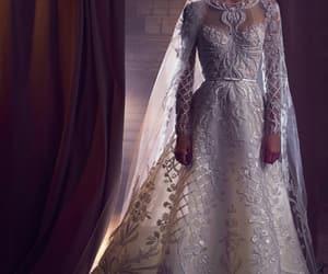 elie saab, bridal, and dress image