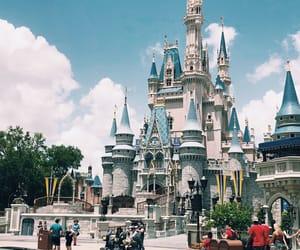 castle, celebration, and disney image