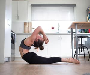backbend, yoga, and ashtanga image