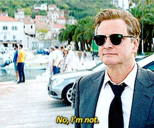 Colin Firth, funny, and gif image