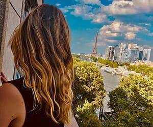 balcony, beautiful, and blonde image