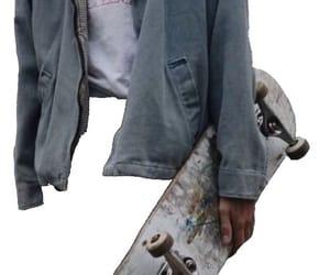 jacket, png, and skateboard image