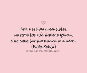 frases, frida kahlo, and girl power image