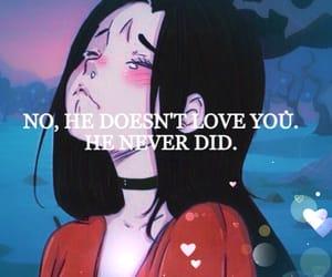 anime, boys, and broken heart image
