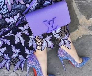 purple, fashion, and shoes image