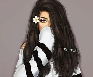 cartoonish, drawing, and girly image