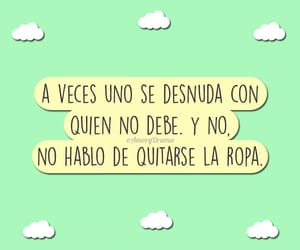 amor, frases, and desnudarse image