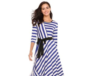 dress, fashion, and pleated dress image