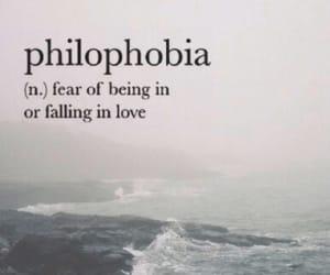 philophobia, phobia, and wallpaper image