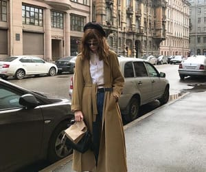 fashion, makeup, and sweater image