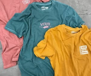skate, vans, and t shirts image