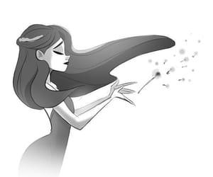 chicas, soltar, and ilustraciones image