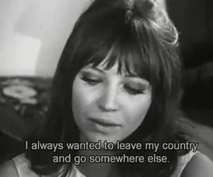 quotes, black and white, and anna karina image