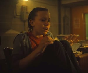 Godzilla and millie bobby brown image