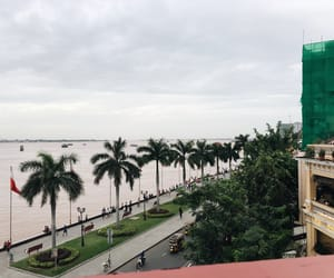Cambodia, riverside, and view image