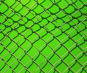 aesthetic, fence, and green image
