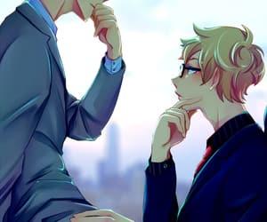 anime, tsukishima kei, and haikyuu image