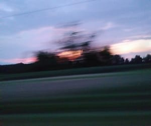 aesthetic, trees, and blurry image