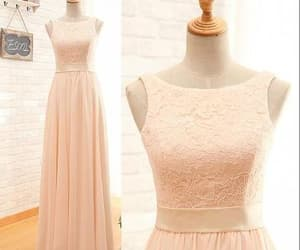dress, gowns, and bridesmaid dresses image