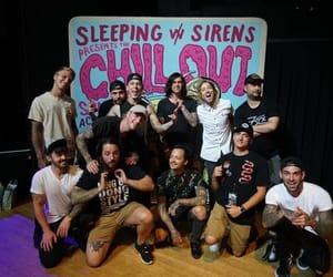 kellin quinn, sleeping with sirens, and gabe barham image