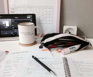 aesthetic, notes, and college image