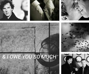 aesthetic, otp, and sherlock image