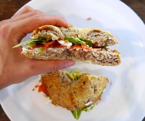 bagel, eat, and healthy image