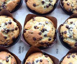 muffins, food, and chocolate image