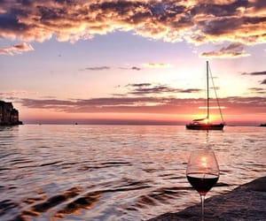 boat, coast, and adriatic image