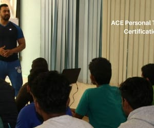ace course in india and ace fitness training image