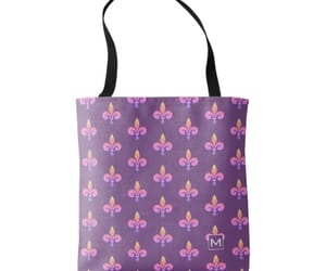 fleur de lis, purple, and shopping image