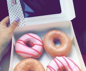 beauty, dessert, and donut image