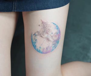 tattoo, colors, and pretty image