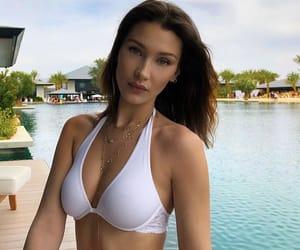 bikini, summer, and bella hadid image