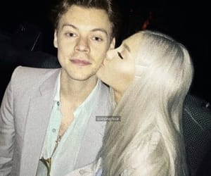 ariana grande, Harry Styles, and hariana image
