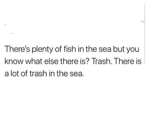 quote, sea, and love image