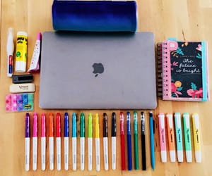 diary, eraser, and pencil image