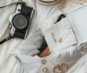 accessories, celine, and fashion image