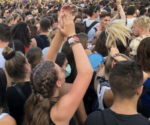 music, sziget, and dance image