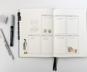 drawing, planner, and work image
