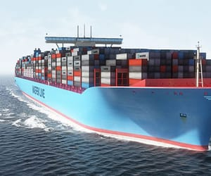 cargo, shipping, and india image