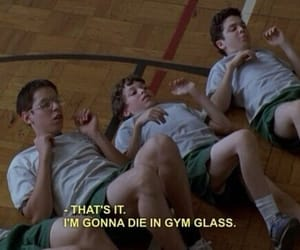 gym, freaks and geeks, and funny image