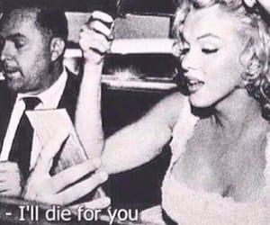 Marilyn Monroe, thanks, and die image