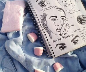 grunge, art, and drawing image